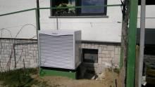 Zunanja enota toplotne črpalke Vaillant zrak/voda
