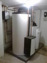 Toplotna črpalka Vaillant zrak/voda 10kW